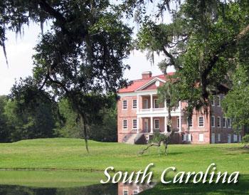 South Carolina travel destinations