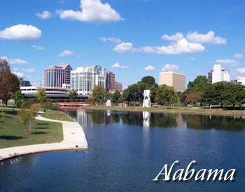 Alabama travel destinations